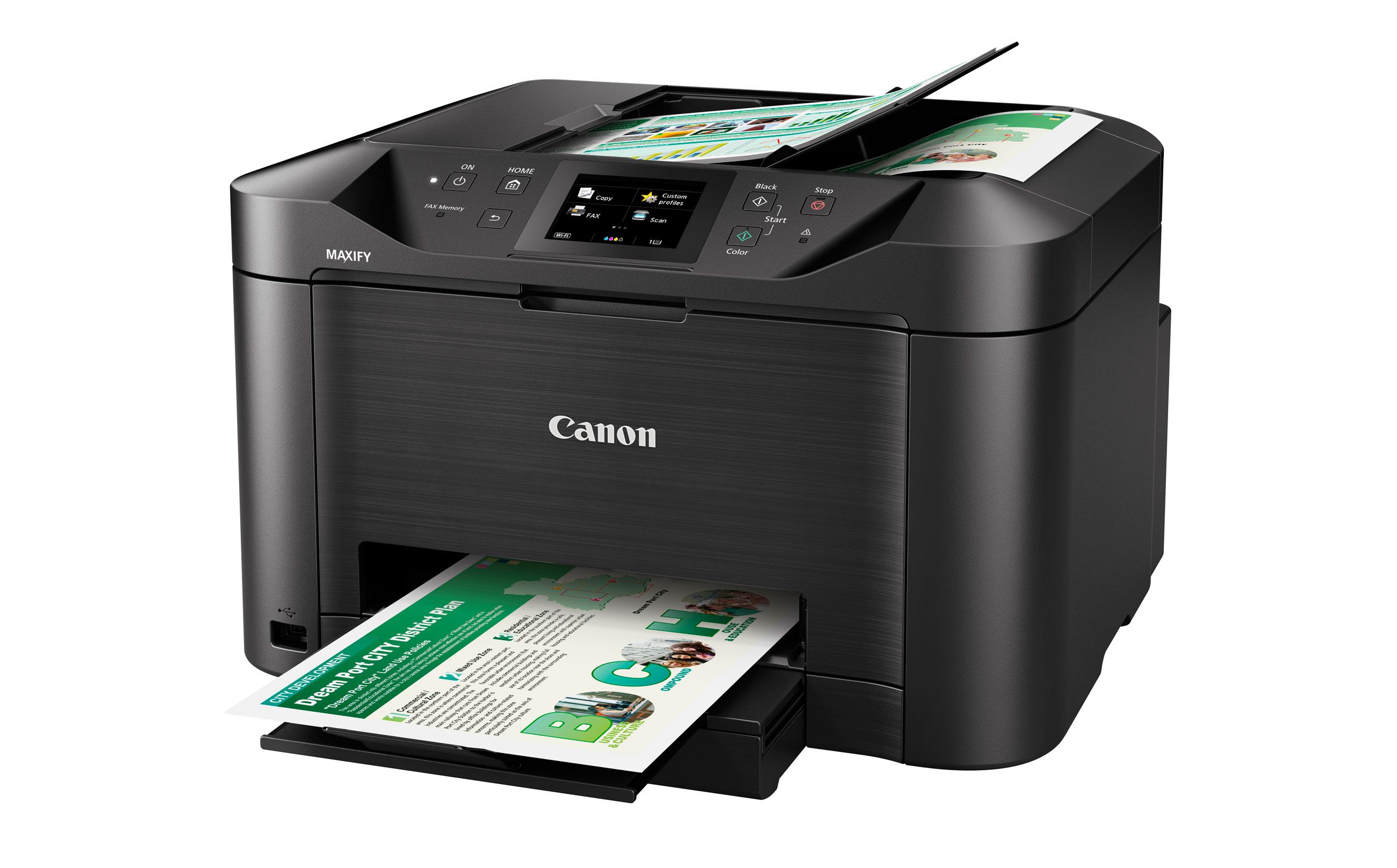 Inkjet Printers Maxify Mb5170 Canon Malaysia