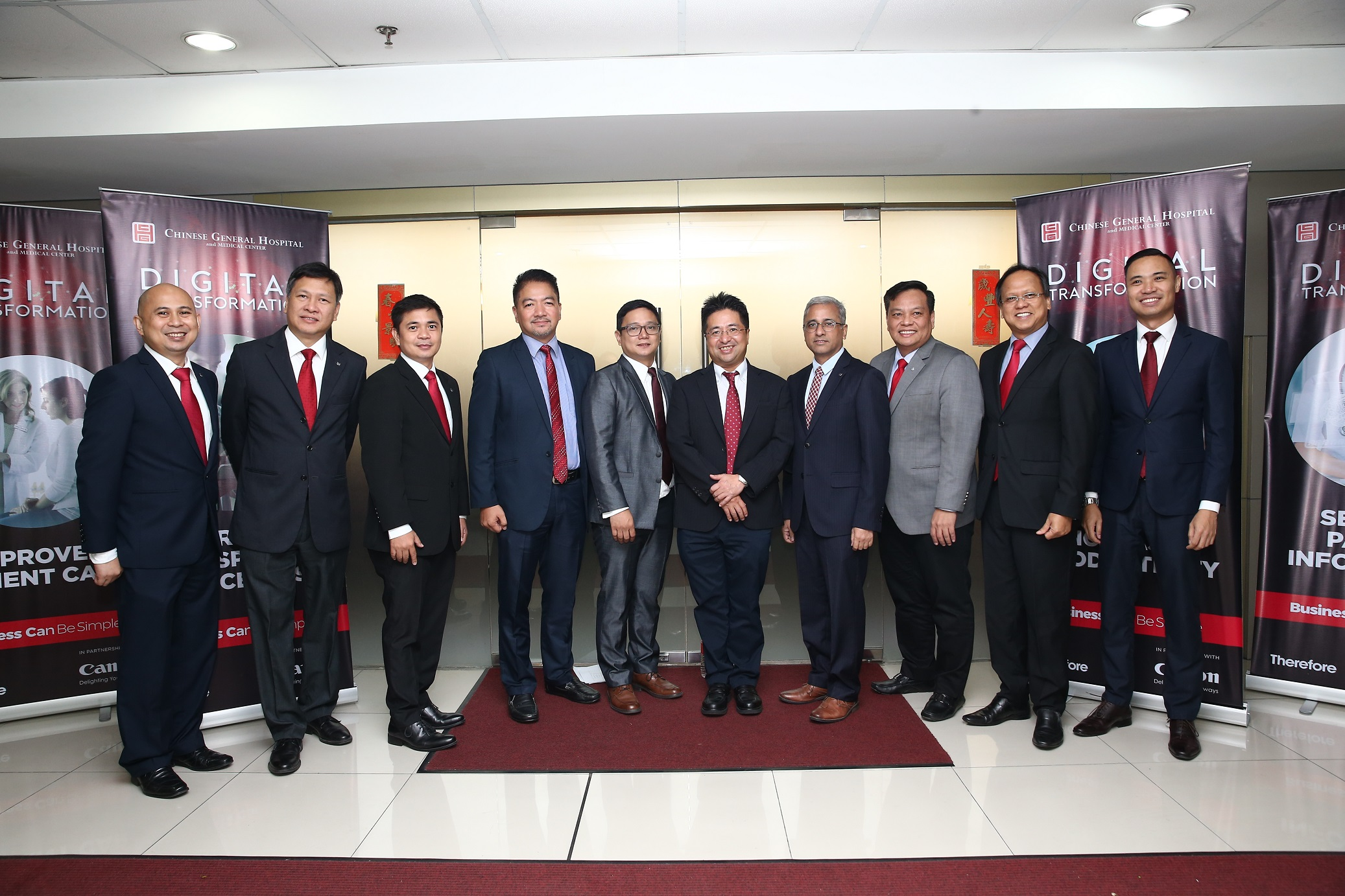 Canon Marketing Philippines Inc. and Chinese General Hospital and Medical Center launch partnership to revamp and modernize the hospital's operations through digital transformation