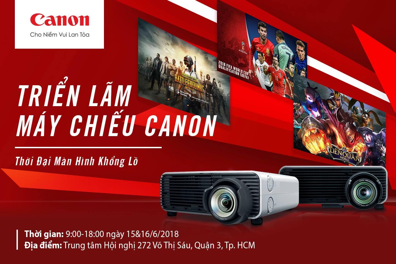 Canon chính thức gia nhập thị trường máy chiếu Việt Nam với nhiều giải pháp cho gia đình và doanh nghiệp