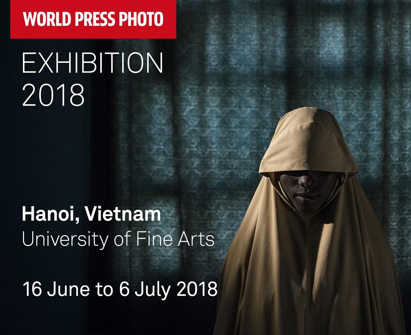 130 tác phẩm từ cuộc thi Ảnh Báo chí Thế giới do Canon tài trợ sẽ được tổ chức triển lãm tại Hà Nội