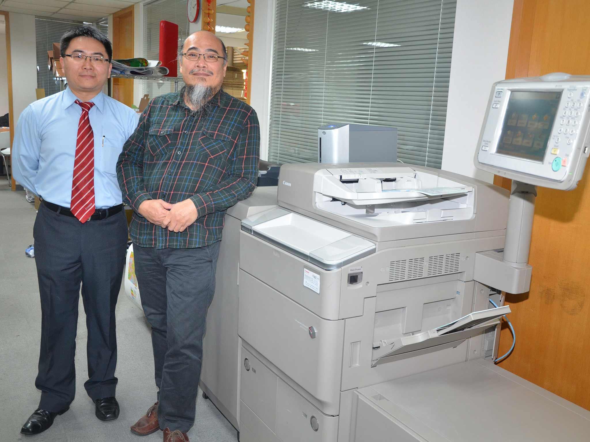 飛行吐司客製變動資料流程 運用 Canon imageRUNNER ADVANCE 8105 數位印刷機成功案例