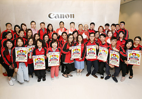 "Canon Hongkong supported ""Dress Red for Thalassaemia"" for the 3rd Consecutive Year"