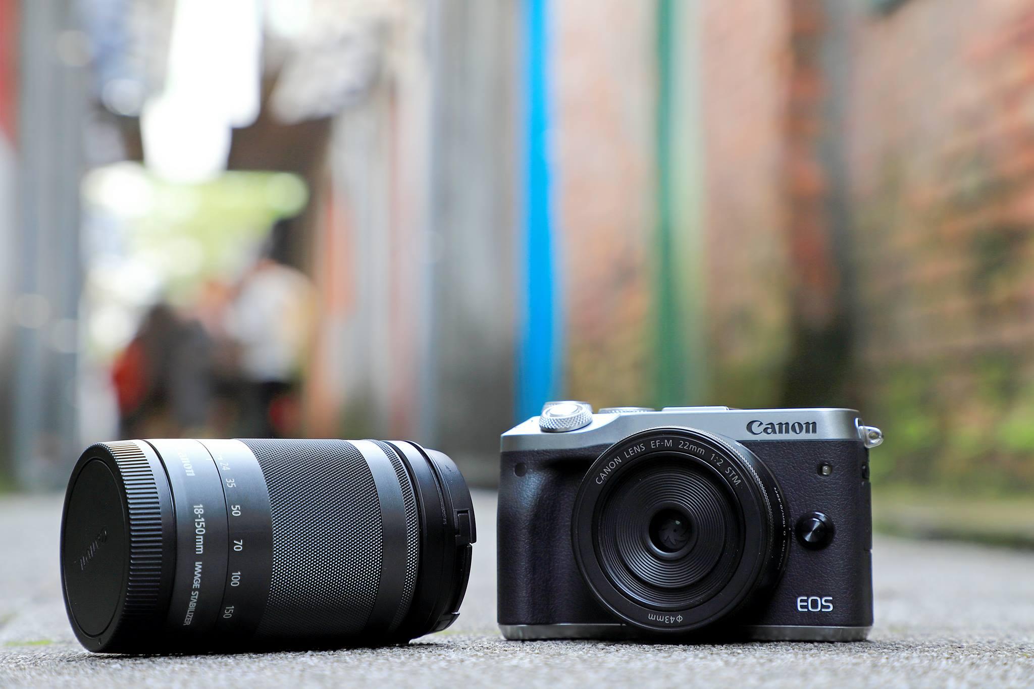 拍照!是與世界分享的管道feat. Canon EOS M6