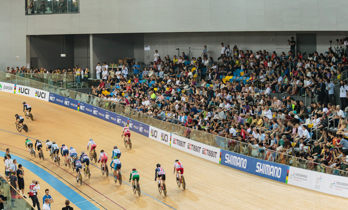 Canon Hongkong supported UCI Track Cycling World Championship 2017