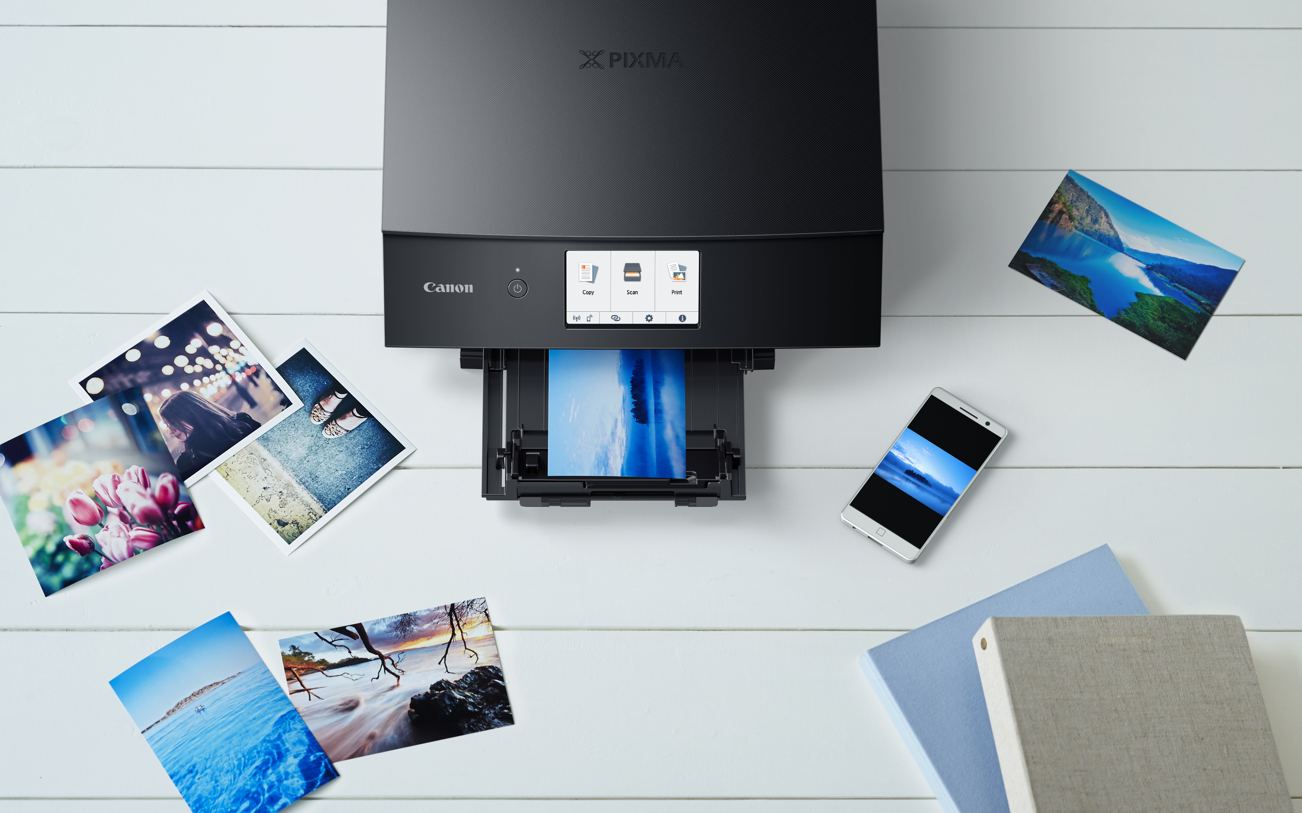Canon Launches New PIXMA All-in-One Photo Printers and LiDE  Ultra-slim Flatbed Scanner