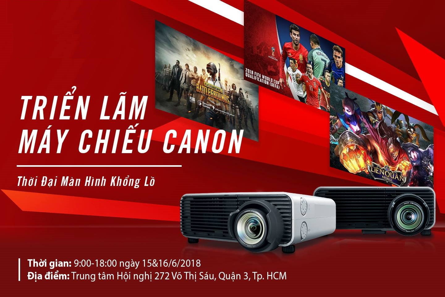 Canon brings projector solutions to Vietnam