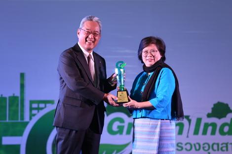 บริษัท แคนนอน ไฮ-เทค (ประเทศไทย) จำกัด คว้าสุดยอดรางวัลอุตสาหกรรมสีเขียวระดับ 5 ประจำปี 2561 รายแรกในกลุ่มอุตสาหกรรมอิเล็กทรอนิกส์   ตอกย้ำผู้นำด้านเทคโนโลยีและนวัตกรรมที่ใส่ใจสิ่งแวดล้อมอย่างแท้จริง