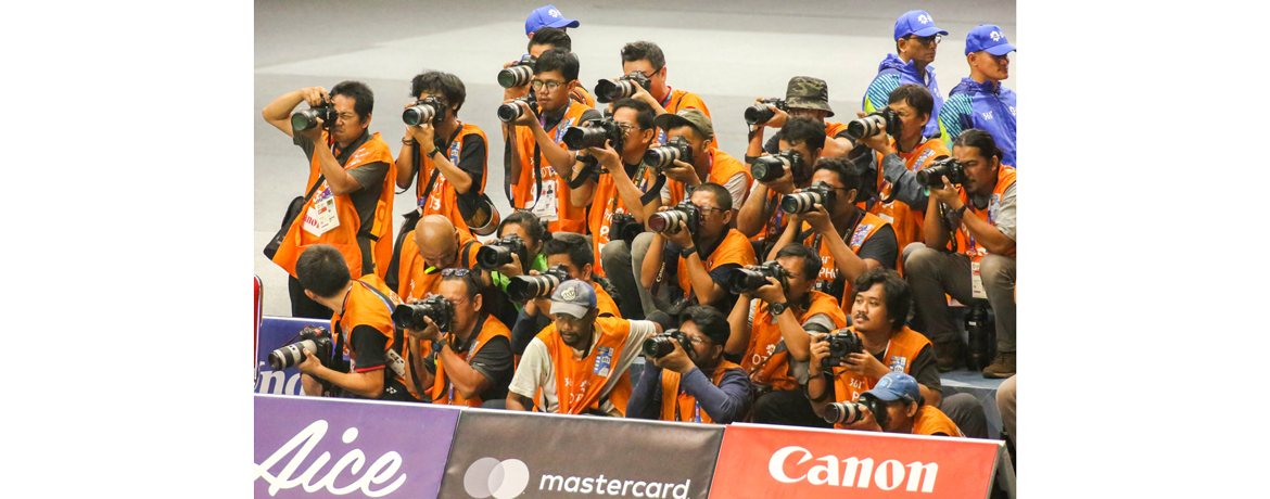 It's A Wrap: Canon Captures the Fun in and Behind the Arena at Asian Games 2018
