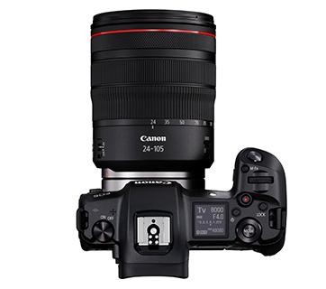 Canon EOS R Kit Top