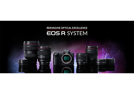 Reimagine Optical Excellence: Canon Expands EOS System with Full-frame EOS R Mirrorless Camera and New Range of Lenses