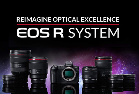 Optical excellence reimagined with Canon's pioneer full-frame mirrorless EOS R camera and new lenses