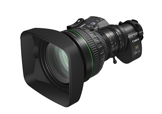 Canon launches CJ25ex7.6B to expand lineup of portable zoom lenses for 4K broadcast cameras