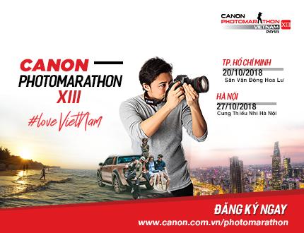 Cuộc thi sáng tác ảnh nhanh Canon Photomarathon 2018