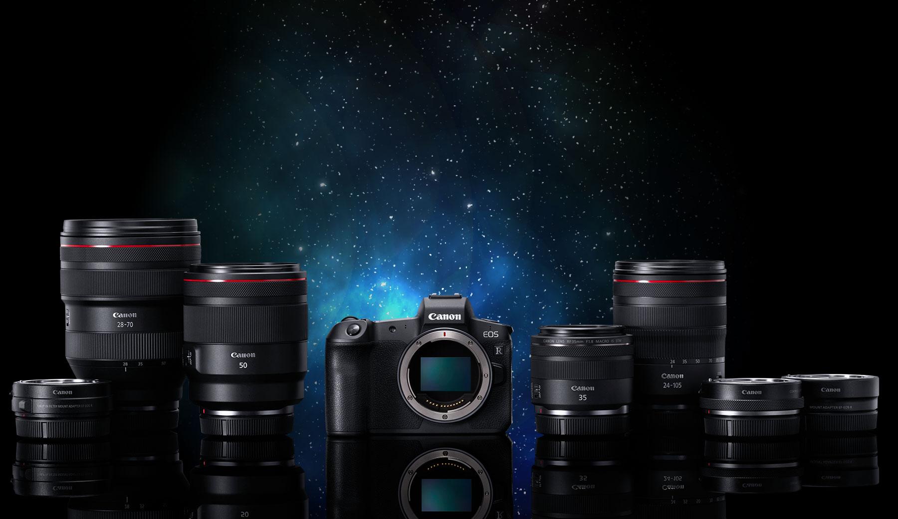 完美光學再定義  Canon 劃時代全新 EOS R 系統 震撼登場