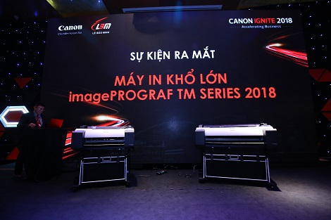 Canon introduces imagePROGRAF TM wide-format printer series - The brand's flagship technologies packed in slim body designs