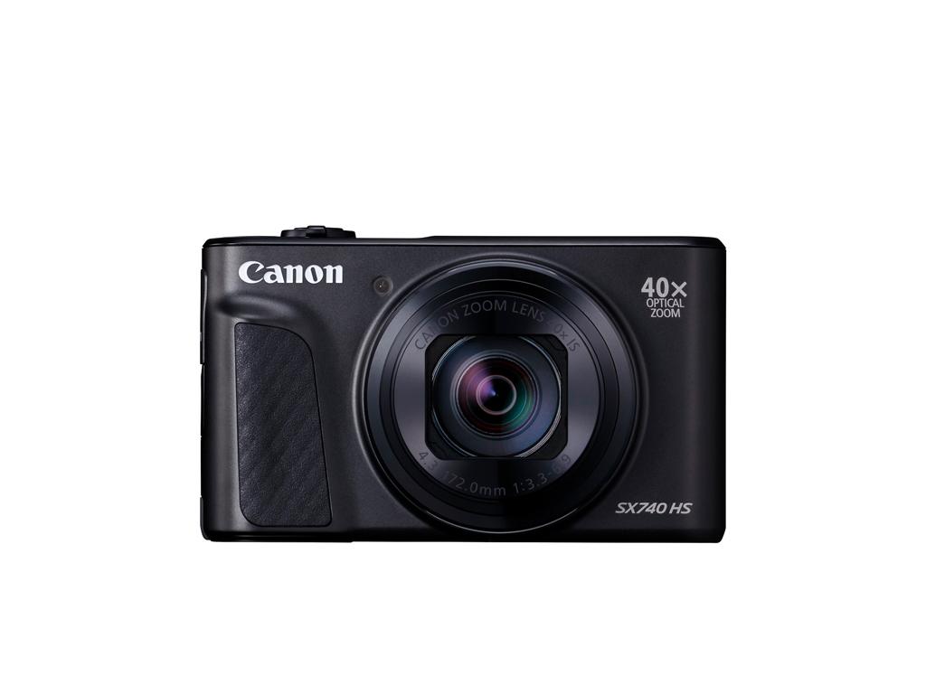 Canon PowerShot SX740 HS 超高 40 倍光學變焦及新增 4K 錄影功能  全新上市!