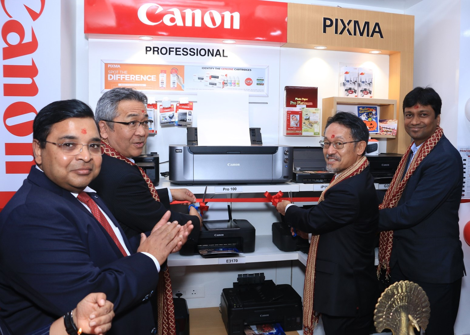 Canon unveils the new destination for Inkjet users; launches the first Canon PIXMA Zone in India