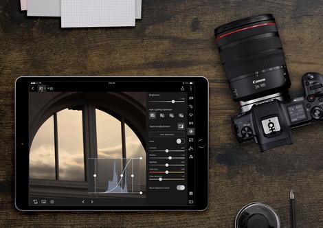 佳能推出全新Digital Photo Professional Express流動應用程式