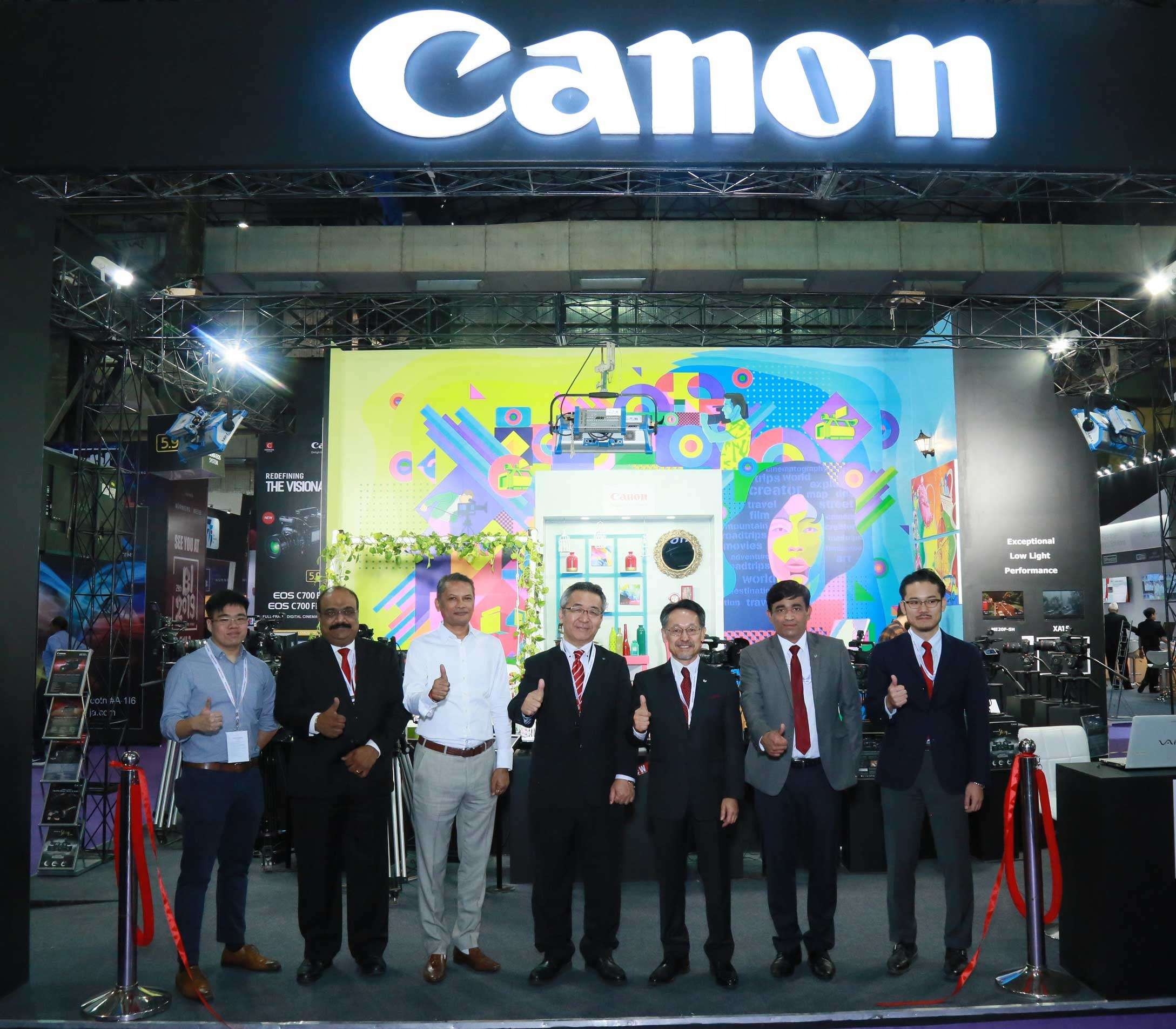Canon India demonstrates groundbreaking technology and innovation at Broadcast India Show 2018