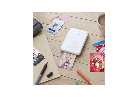 Fun-sized Prints and Stickers on the Go  with New Canon Mini Photo Printer