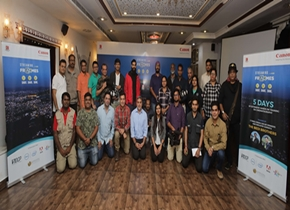 Canon India's unique cinematography training 'Streaming Frames' hosts its second chapter in the City of Lakes, Udaipur