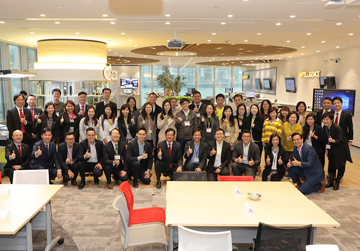 Hong Kong Association for Customer Service Excellence Company Visit at Canon