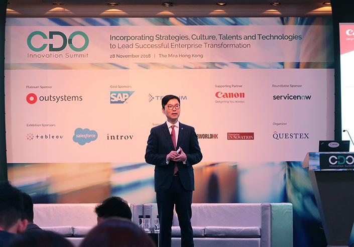 Chief Digital Officer Innovation Summit 2018 Hong Kong