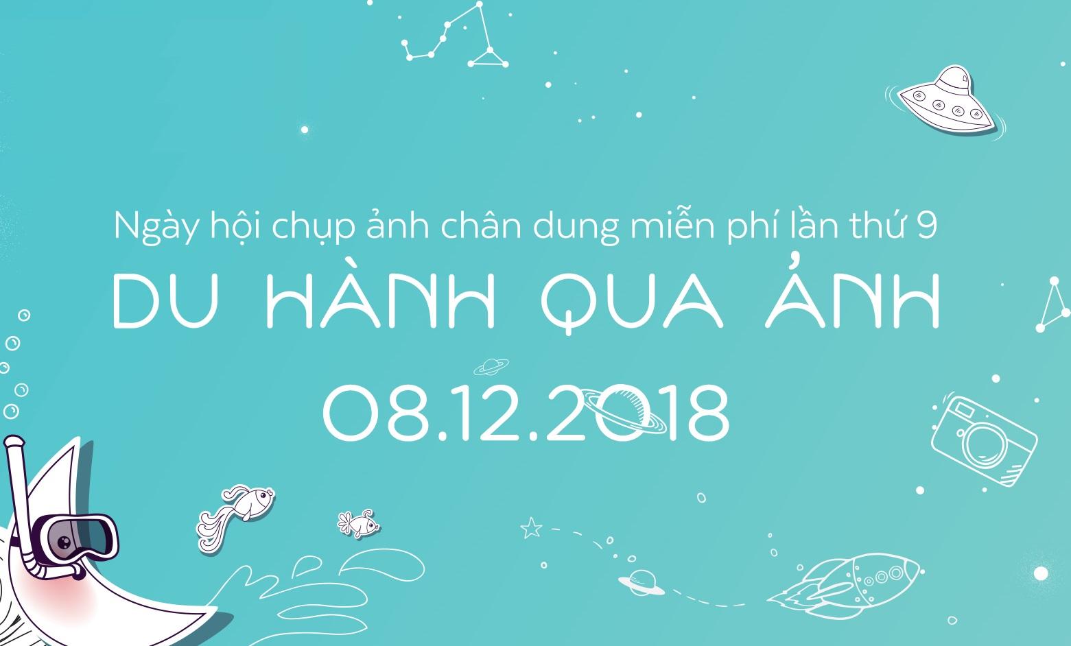 """Canon sát cánh cùng Help-Portrait Việt Nam 2018  trong sự kiện """"Du hành qua ảnh"""""""