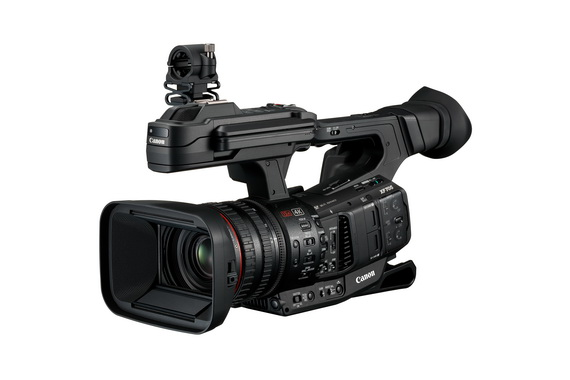 佳能全新XF705高畫質廣播級4K數碼攝錄機