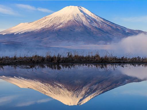 掌握幾個要訣 你也能成功拍到日本「逆富士」!