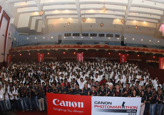 Canon hosted its 9th edition of PhotoMarathon for the first time  in East India