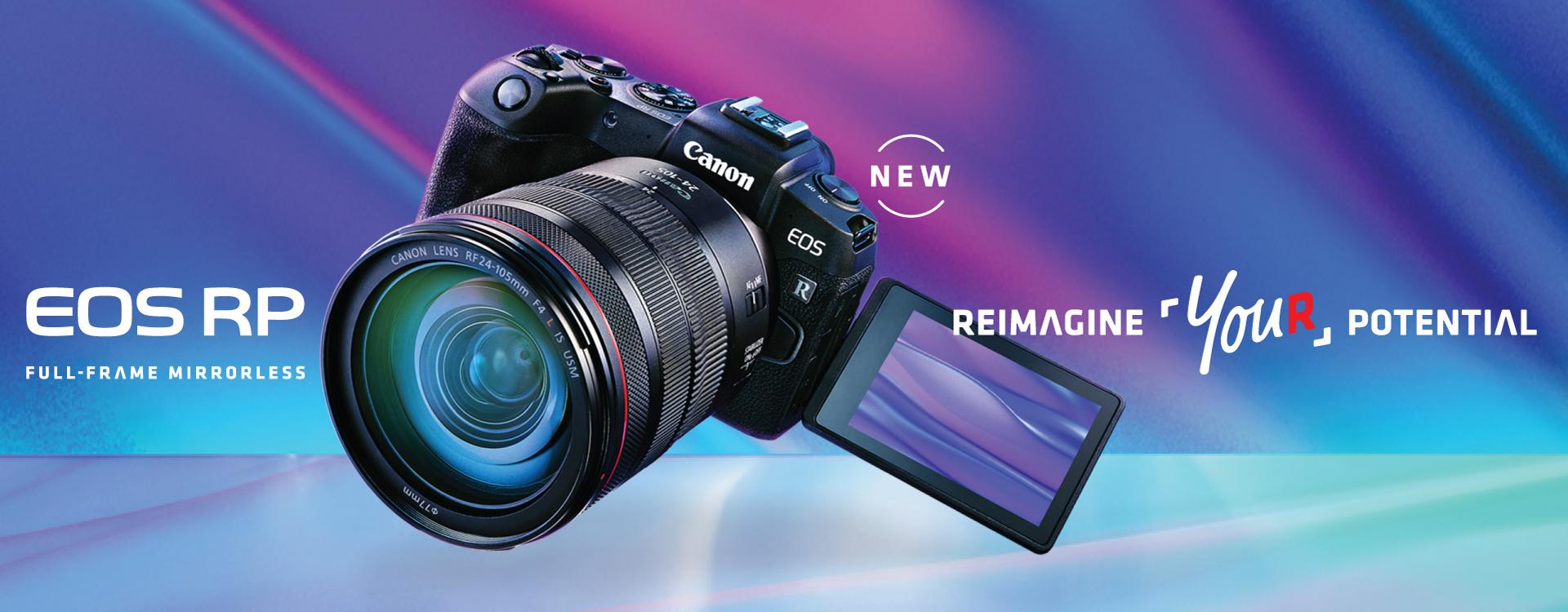 """58fdfcfe1757 เผยโฉม """"CANON EOS RP"""" กล้องมิเรอร์เลสฟูลเฟรม เล็กและเบาที่สุดจากแคนนอน  มาพร้อมความสามารถเต็มรูปแบบในระบบ EOS R System"""