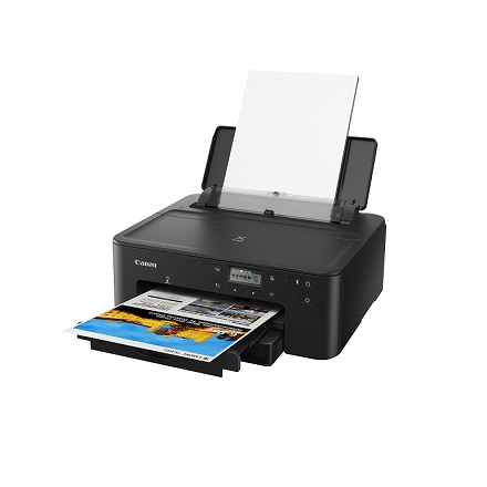 Canon unveils the new PIXMA TS707 printer with its capability for crisp image output, high document printing volume, which is suitable for small businesses and home offices