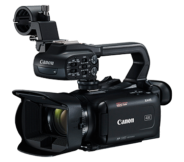 Professional Video Cameras Xa45 Canon India