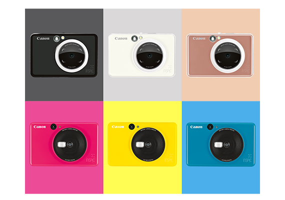 Canon Introduces New Instant Cameras in Bold New Colour Choices that