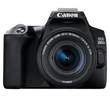 EOS 200D MKII BK Front