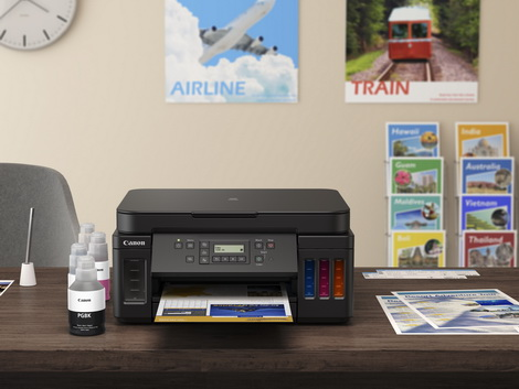 Canon Launches New PIXMA G6070 & G5070 Refillable Ink Printers