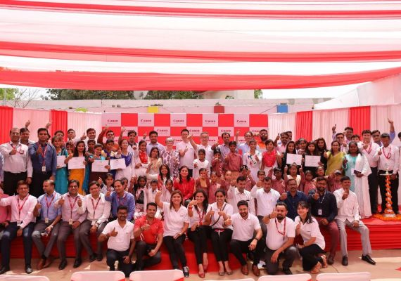 Canon India marks a milestone with the 1st anniversary of Maheshwari Village adoption