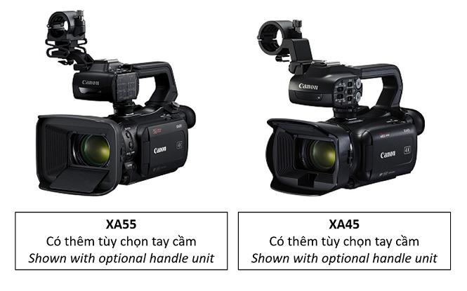 Canon nâng tầm cho dòng sản phẩm XA với các máy quay chuyên nghiệp chuẩn 4K đầu tiên