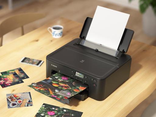 Canon 推出全新 PIXMA TS707 高效能相片印表機 隨時隨地印製高品質相片及文件
