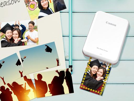 Canon 迷你相片印表機  收藏畢業青春回憶