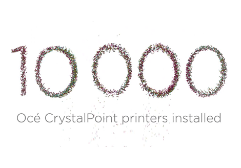 Canon Celebrates Significant Milestone with 10,000 Océ CrystalPoint Printers Installed