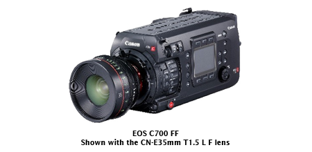 Canon Launches Flagship EOS Cinema C700 FF with Newly Developed Full