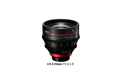 Canon Enhances EF Cinema Lens Lineup with Introduction of 20mm Fixed-Focal-Length Lens