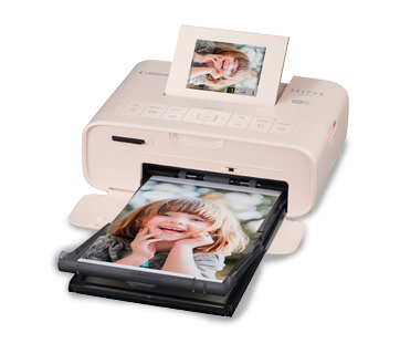 Canon SELPHY CP1200 Compact Photo Printer Newly Designed Compact Body for Direct External Battery Attachment, Wi-Fi Printing, Versatile Print Functions and Easy Operation